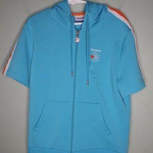 Reebok Classic Short Sleeve Full Zip Hoodie
